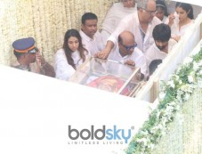 Funeral Of Sridevi Kapoor Photos