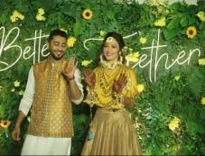 Gauhar khan And Zaid Darbar Mehandi Ceremony Photos Photos