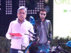 Ranbir Kapoor At The HERO Lounge At Auto Expo