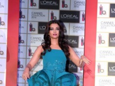 Aishwarya Rai Bachchan Launches L'Oreal Paris Cannes 2016 Collection