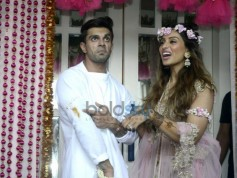 Bipasha Basu And Karan Singh Grover Mehendi Ceremony