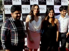 Evelyn Sharma At The Launch Of La Hair Affaire
