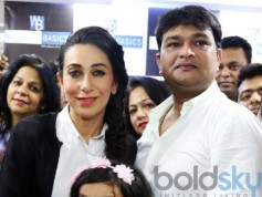 Karisma Kapoor Inaugurated Western Basics Kids Wear Store
