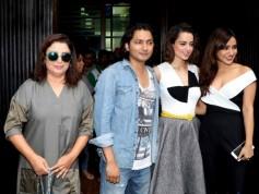 Kangana Ranaut And Neha Sharma During The World Premiere Of The Film Kriti