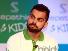 Virat Kohli Announcing New Venture Steplathon Kids