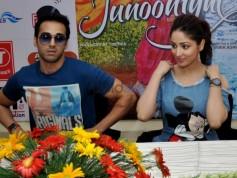 Yami Gautam And Pulkit Samrat At Promotional Event