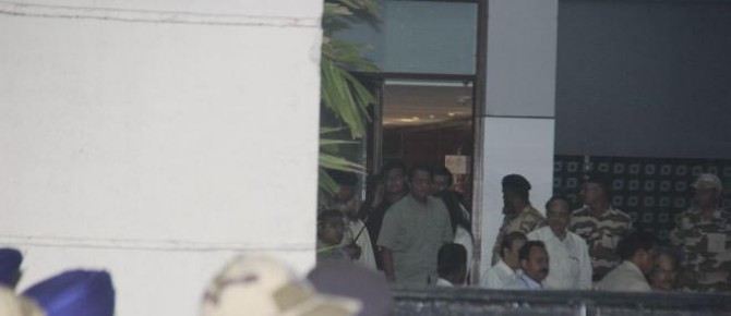 Kapoor Family Spotted At Kalina Airport