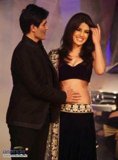 Manish Malhotra and Priyanka Chopra