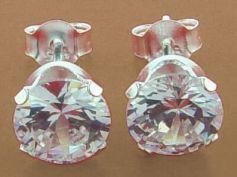 Diamond Platinum Earrings