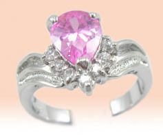 Diamond Pink Ring