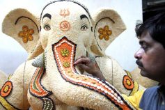 Legumes Ganesh idol