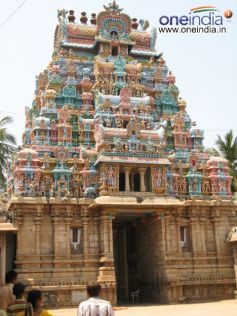 A Gopuram In The Temple