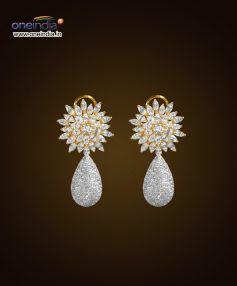 Detachable Diamond Earrings