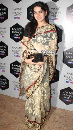 Celebrities at LFW 2012