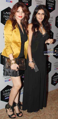 Shama Sikander and Nisha Jamwal