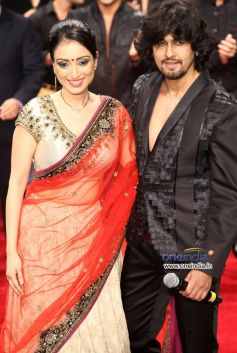 Sonu Nigam and Madhurima Nigam