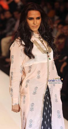 Neha Dhupia Walk the Ramp For Gitanjali's Asmi Show