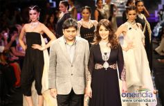 Madhuri Dixit walks the ramp for PC Jewellers