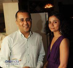 Writer Chetan Bhagat with a friend