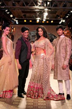 Designer Manish Malhotra with Bollywood Celebrities