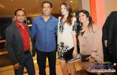 Ashok Sakari with Vindu Dara Singh and his Wife