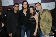 Anand Sakariya, Zayed Khan, Amy Billimoria and Sunny Sakariya