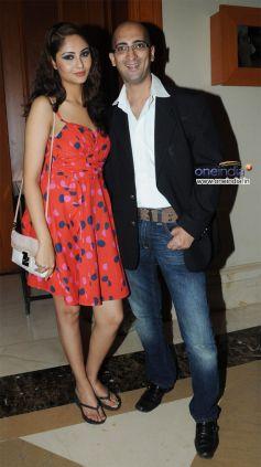 Utsav Dholakia with a friend