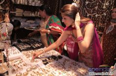 Aarti Chhabria enjoying her shopping