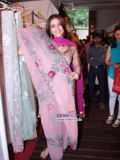 Aarti Chhabria posing with her best Sari