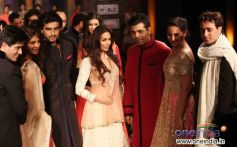 Bollywood Stars Ramp Walk at Mijwan Fashion Show 2012