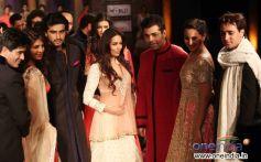 Bollywood Stars Ramp Walk at Mijwan Fashion Show 2012