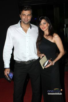 Chetan Hansraj and wife