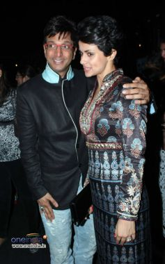 Mandira bedi and Javed Jaffrey