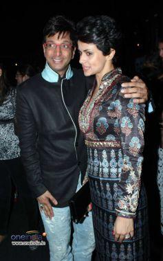 Mandira bedi and Javed Jaffrey