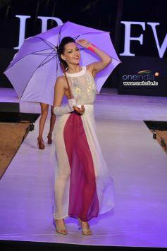 Model In Beautiful White dress