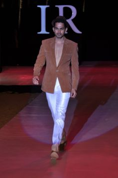 Model Walk On Ramp for designer Riyaz Gangji