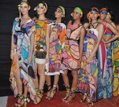 Models on Red Carpet