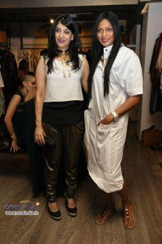 Azmina Rahimtoola  and Nina Manuel