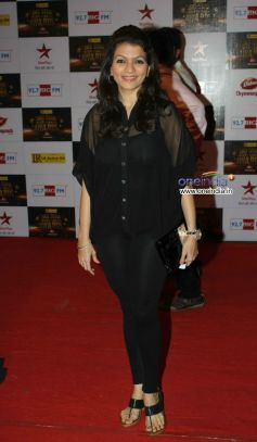 Prachi Shah At Big Star Entertainment Awards 2012