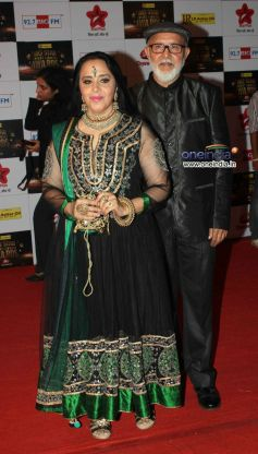 Ila Arun At Big Star Entertainment Awards 2012