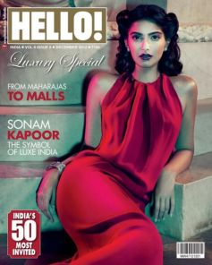 Celebrities on Magazine Covers,Sonam Kapoor