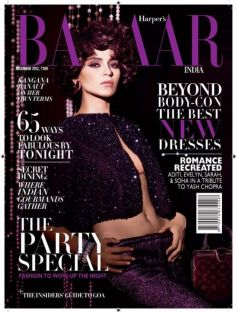 Celebrities on Magazine Covers,Kangna Ranaut