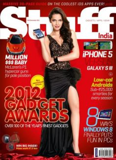 Celebrities on Magazine Covers,Shazahn Padamsee