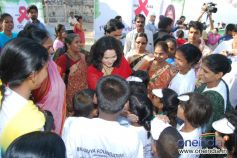 Actress Nishigandha with Bhavya Foundation