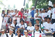 Peoples in HIV AIDS awaress rally