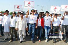 Rally begans from juhu chowpatty