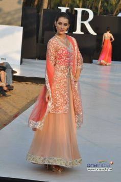 Model for Designer Shouger Merchant Doshi At IRFW 2012, Goa