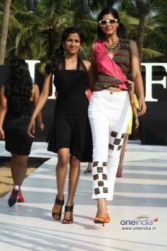 Rachana Sansad Models Cat Walk