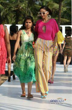 Designer of Rachana Sansad Models Walked On The Ramp