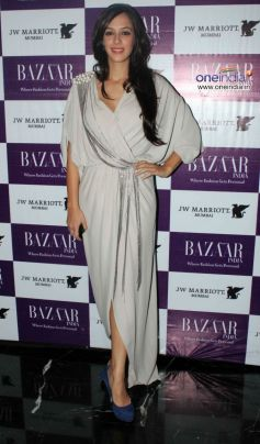 Hazel Keech at Harper's Bazzar Bash 2012